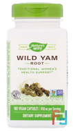 Wild Yam Root, Nature's Way, 425 mg, 180 Vegetarian Capsules