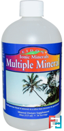 Multiple Mineral, Ionic Minerals, Eidon Mineral Supplements, 18 oz, 533 ml