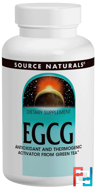 EGCG, Source Naturals, 350 mg, 60 Tablets