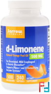 d-Limonene, Jarrow Formulas, 500 mg, 240 softgels