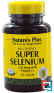 Super Selenium, Nature's Plus, 200 mcg, 90 Tablets