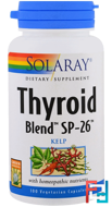 Thyroid Blend SP-26, Solaray, 100 Veggie Caps