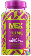 CLA + Green Tea, MEX Nutrition, 90 capsules
