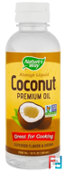 Liquid Coconut Premium Oil, Nature's Way, 10 fl oz (296 ml)