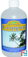 Ionic Minerals, Copper, Eidon Mineral Supplements, 19 oz, 563 ml