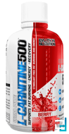 L-Carnitine500, EVLution Nutrition, 16 fl oz, 465 ml
