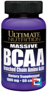 BCAA, Ultimate Nutrition, 60 capsules