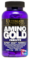 Amino Gold, Ultimate Nutrition, 1000 mg, 250 tablets