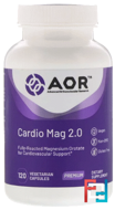 Classic Series, Cardio-Mag 2.0, Advanced Orthomolecular Research AOR, 120 Veggie Caps