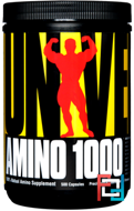 Amino 1000, Universal Nutrition, 500 capsules