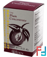 Ume Plum Concentrate, Eden Foods, 1.4 oz (40 g)