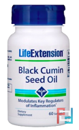 Black Cumin Seed Oil, Life Extension, 60 Softgels