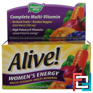 Alive! Women's Energy, Multivitamin-Multimineral, Nature's Way, 50 Tablets