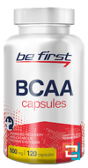 BCAA Capsules, Be First, 120 capsules