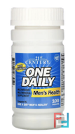 One Daily, Men's Health, 21st Century, 100 Tablets