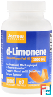 d-Limonene, Jarrow Formulas, 1000 mg, 60 softgels