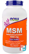 MSM, Now Foods, 1000 mg, 240 Capsules