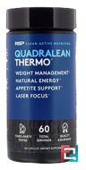 Quadra Lean, Thermogenic Weight Loss, RSP Nutrition, 180 Capsules