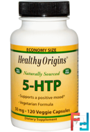 5-HTP, Healthy Origins, 50 mg, 120 Veggie Caps