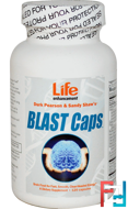 Blast Caps, Life Enhancement, 120 Capsules