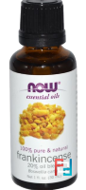 Essential Oils, Frankincense 20% Oil Blend, Now Foods, 30 ml
