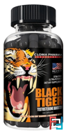 Black Tiger, Cloma Pharma, 100 capsules