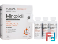 MEN'S Advanced Hair Regrowth Treatment 5% Minoxidil For Men, FOLIGAIN, 60 ml