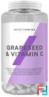 Grapeseed & Vitamin C, Myprotein, 90 caps