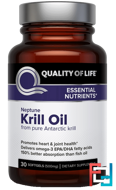 Neptune Krill Oil, Quality of Life Labs, 30 Softgels