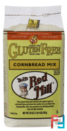 Cornbread Mix, Gluten Free, Bob's Red Mill, 20 oz (567 g)
