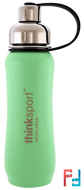 Thinksport, Insulated Sports Bottle, Mint Green, Think, 17 oz (500 ml)