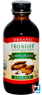 Organic Chocolate Extract, Frontier Natural Products, 2 fl oz, 59 ml