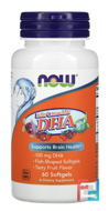 Kid's Chewable DHA, Fruit Flavor, Now Foods, 60 Softgels