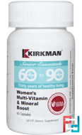 Senior Essentials 60 to 90 Years, Women's Multi-Vitamin & Mineral Boost, Kirkman Labs, 60 Capsules