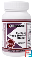 Restless Sleep Herbal Blend, Kirkman Labs, 60 Capsules