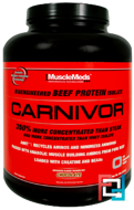 Carnivor, Bioengineered Beef Protein Isolate, MuscleMeds, 4.1 lb, 2072 g