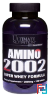 Amino 2002, Ultimate Nutrition, 100 tablets