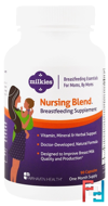 Nursing Blend Breastfeeding Supplement, Milkies, Fairhaven Health, 90 Veggie Caps