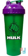Шейкер, Hulk, Super Hero Series, 600 ml