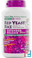 Red Yeast Rice, Herbal Actives, Nature's Plus, 600 mg, 120 Mini-Tabs