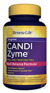 CandiZyme, Targeted, Renew Life, 90 Vegetable Capsules