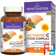 Activated C Food Complex, New Chapter, 90 Tablets