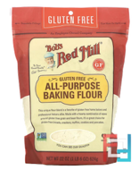 All Purpose Baking Flour, Gluten Free, Bob's Red Mill, 22 oz (623 g)