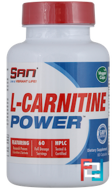 L-Carnitine Power, SAN, 60 capsules