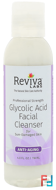 Glycolic Acid Facial Cleanser, Reviva Labs, 4 fl oz, 118 ml
