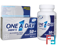Men's 50+ Healthy Advantage, Multivitamin/Multimineral, One-A-Day, 65 Tablets