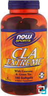CLA Extreme, Now Foods, 180 Softgels