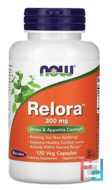 Relora, Now Foods, 300 mg, 60 Veg Capsules