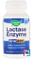 Lactase Enzyme Formula, Nature's Way,100 Capsules