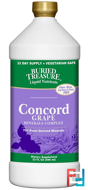 Liquid Nutrients, 70+ Plant Derived Minerals, Concord Grape, Buried Treasure, 32 fl oz, 946 ml